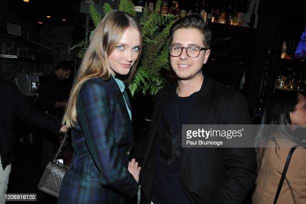 Vlada Roslyakova and Robin Marsicano attend Sony Pictures Classics And The Cinema Society Host A Special Screening Of The Climb at iPic Theater on...
