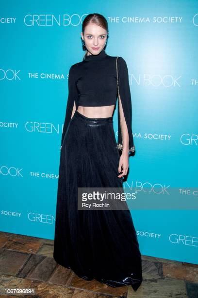 Vlada Roslyakova attends the Green Book New York Special Screening hosted by the Cinema Society at The Roxy Hotel Cinema on November 14 2018 in New...