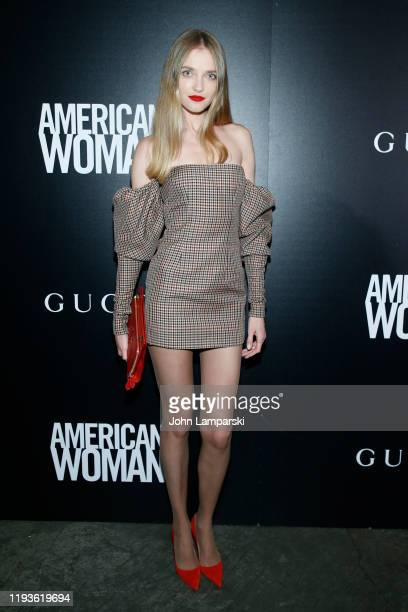 "Vlada Roslyakova attends the screening of ""American Woman"" at Metrograph on December 12, 2019 in New York City."