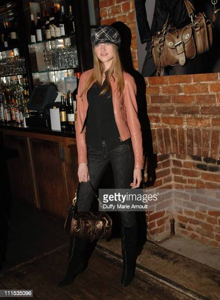 Vlada Roslyakova during Mulberry US Launch Party November 29 2006 at 5 Ninth in New York City New York United States