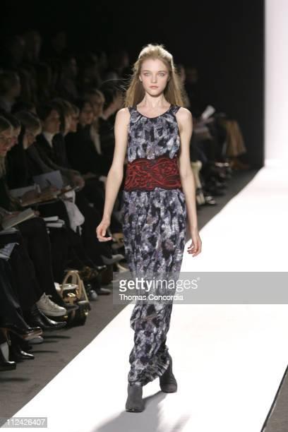 Vlada Roslyakova wearing Max Azria Collection Fall 2006