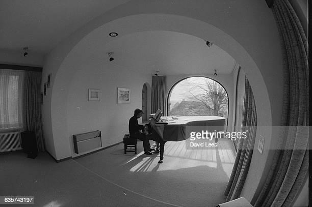 Vladimir Ashkenazy at the piano | Location Lucerne Switzerland