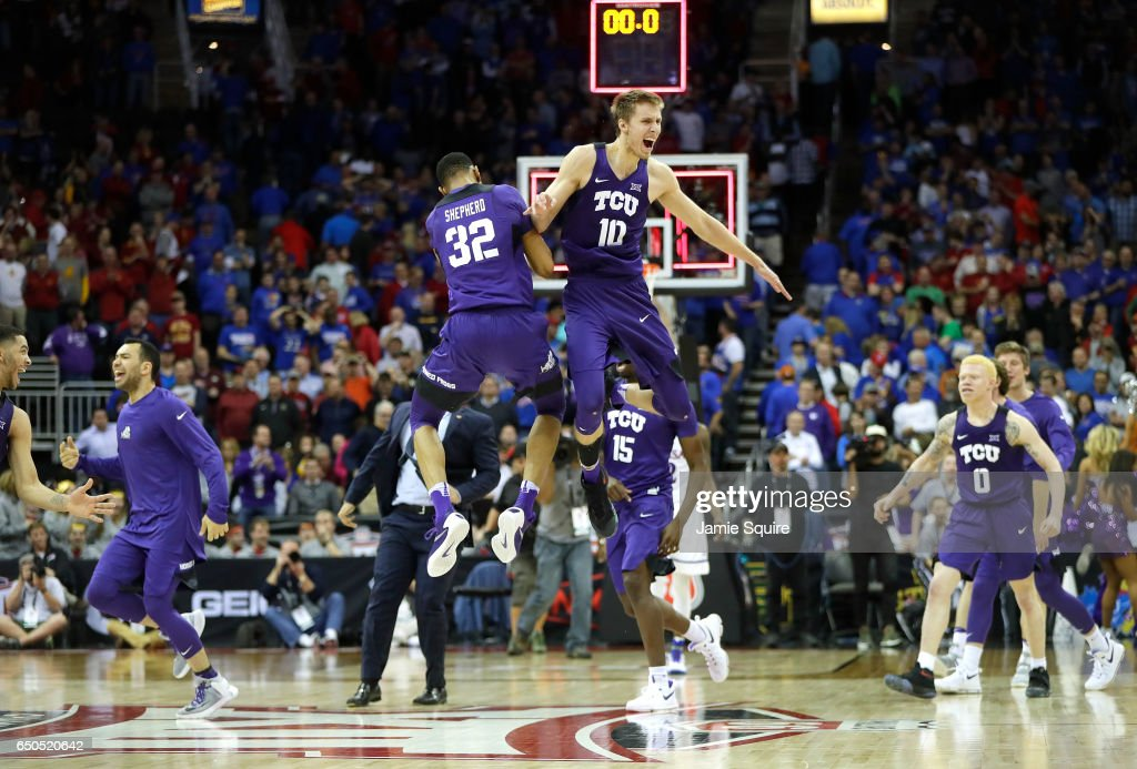 Big 12 Basketball Tournament - Quartefinals : News Photo