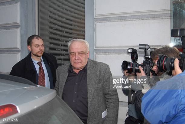 Vladimir Bukovsky leading dissident of the Soviet era attends a meeting at the Sakharov Centre on October 17 2007 in Moscow Russia Bukovsky has...