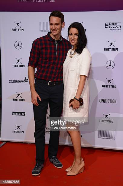 Vladimir Burlakov and Minu BaratiFischer attend the First Steps Award 2014 at Stage Theater on September 15 2014 in Berlin Germany