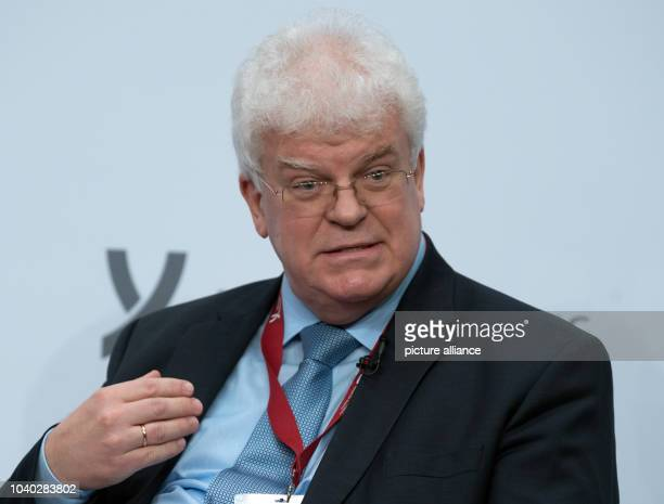 Vladimir Chizhov Representative of Russia in Brussels during the Koerber Stiftung's 5th Berlin Foreign Policy Forum in Berlin Germany 10 November...