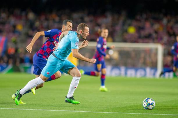 Barcelona V Slavia Prague