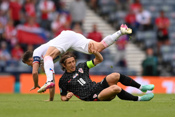 GBR: Croatia v Czech Republic - UEFA Euro 2020: Group D