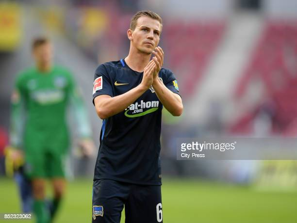 Vladimir Darida of Hertha BSC after the game between FSV Mainz 05 and Hertha BSC on september 23 2017 in Mainz Germany