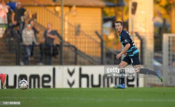 Vladimir Darida of Hertha BSC during the friendly match between Hertha BSC and the SV Babelsberg 03 at the KarlLiebknechtStadion on october 11 2018...