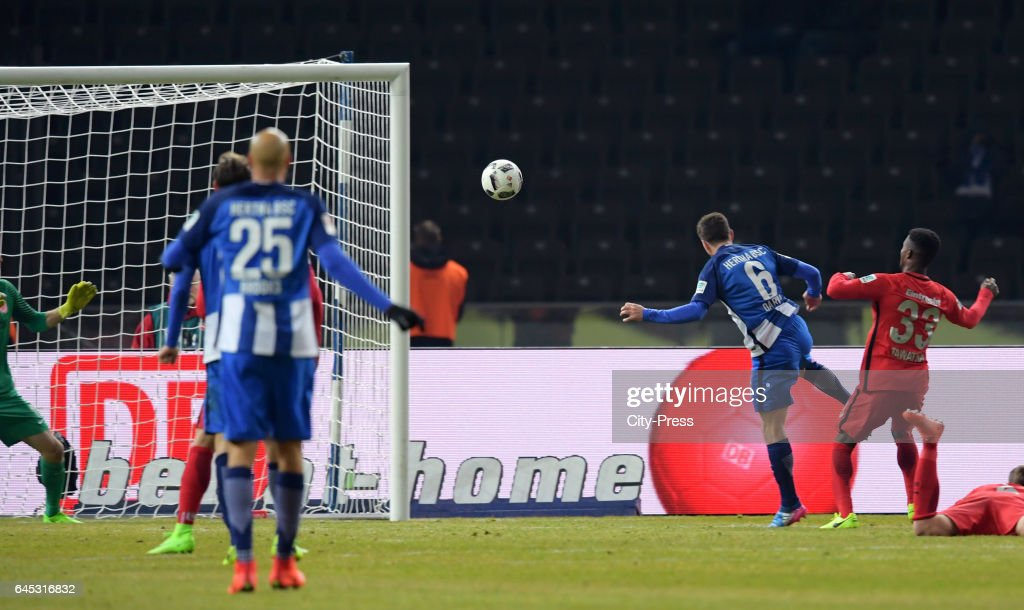 Hertha BSC v Eintracht Frankfurt - 1 Bundesliga : News Photo