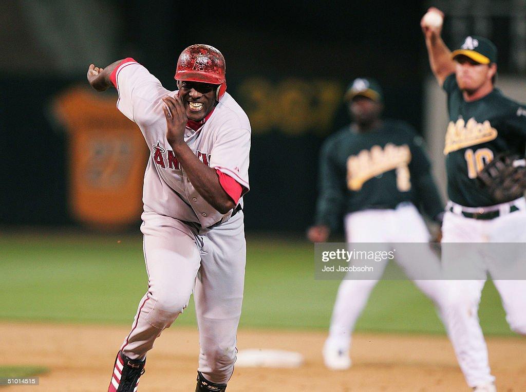 Angels v Athletics : News Photo