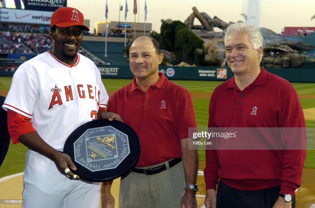 Texas Rangers vs Los Angeles Angels of Anaheim - April 6, 2005