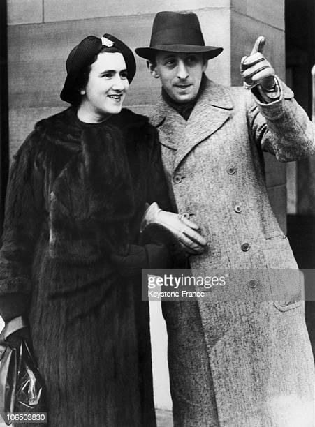 Vladimir Horowitz And His Wife Wanda Toscanini. 30S
