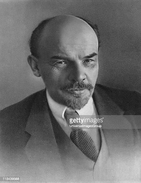 Vladimir Ilyich Lenin c1917 Russian revolutionary
