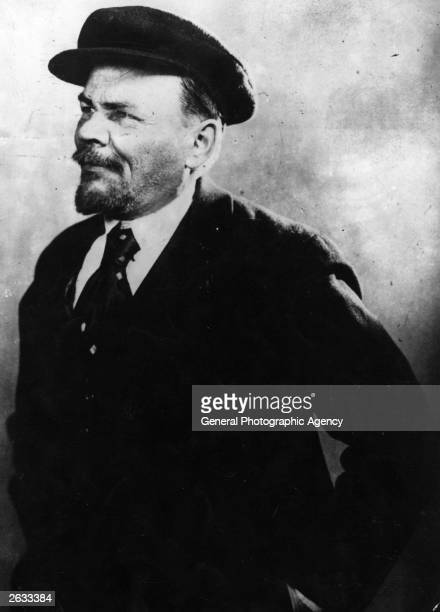 Vladimir Ilyich Lenin Russian Marxist revolutionary leader of the Bolshevik revolution and head of the first Soviet government