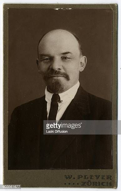 Vladimir Ilyich Ulyanov Lenin in Zurich Switzerland in 1916 Photographer Wilhelm Pleyer