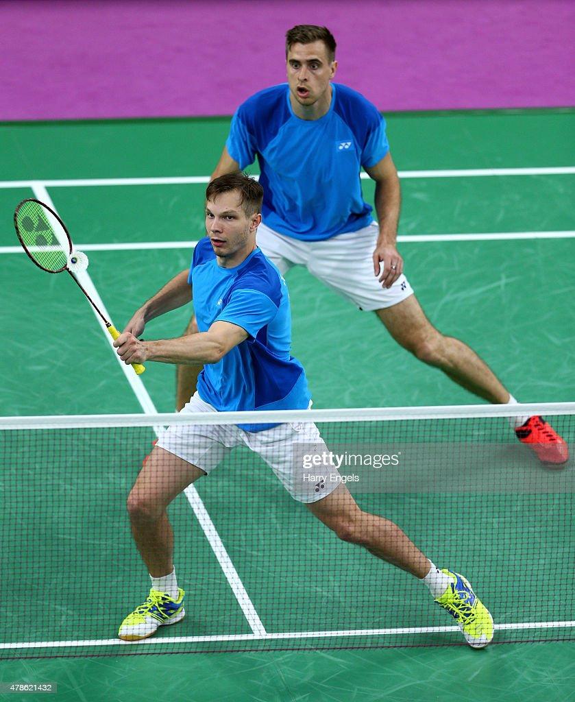 Badminton Day 14: Baku 2015 - 1st European Games