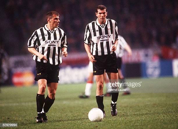 2 9497 Vladimir JUGOVIC Zinedine ZIDANE/Juventus Turin