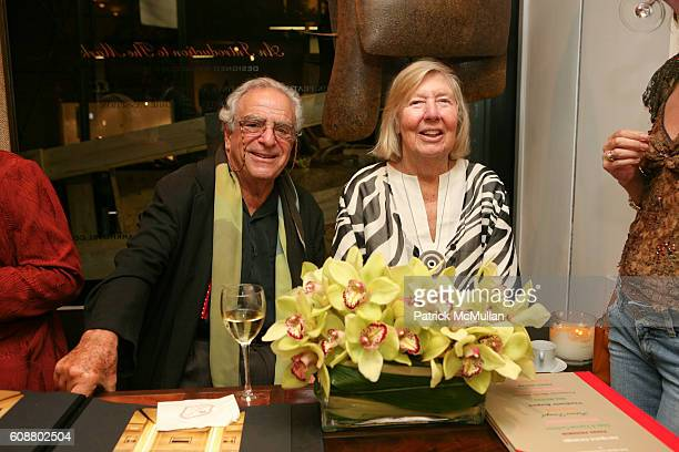Vladimir Kagan and Erica Kagan attend HIGH TEA FOR THE PREMIERE OF GALERIE MARK HOSTED BY ALEXICO GROUP JACQUES GRANGE PIERRE PASSEBON at Gallerie...