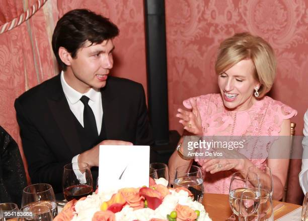 Vladimir Kapshuk and Dora Jane Flesher attend the Launch of the Paris Opera 350th Anniversary in New York with the American Friends of the Paris...