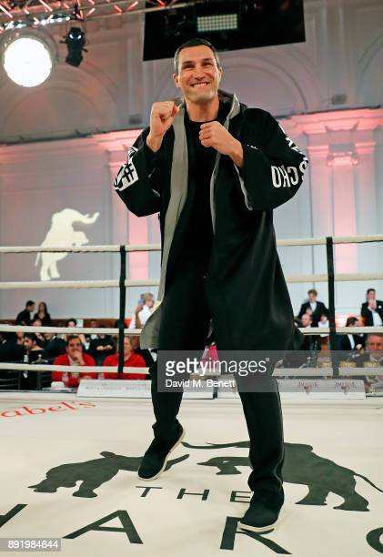Vladimir Klitschko attends The Charge II boxing fundraiser at The Lindley Hall on December 13 2017 in London England