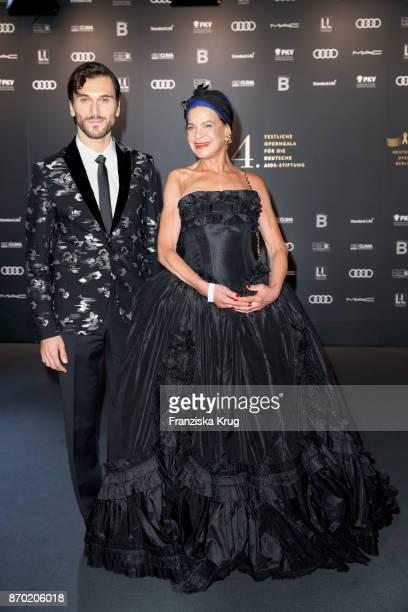 Vladimir Korneev and Barbara Engel attend the 24th Opera Gala at Deutsche Oper Berlin on November 4 2017 in Berlin Germany