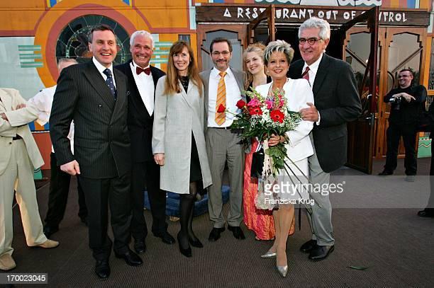 Vladimir Kotenev with wife Maria Koteneva Prime Minister of Brandenburg Matthias Platzeck Jeanette Jesorka Dagmar Frederic With Husband Klaus Lenk...