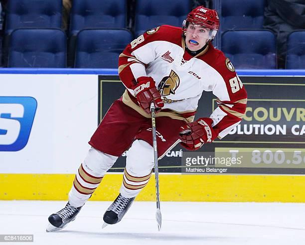 Vladimir Kuznetsov of the Acadie-Bathurst Titan skates during his QMJHL hockey game at the Centre Videotron on November 9, 2016 in Quebec City,...