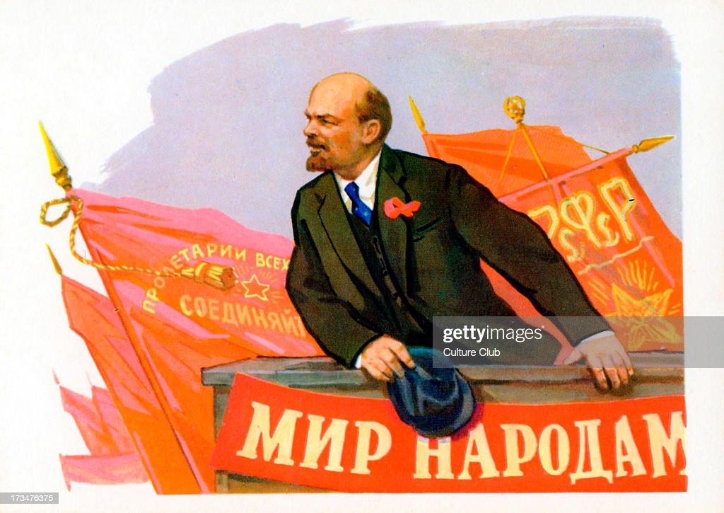 Vladimir Lenin - portrait : News Photo