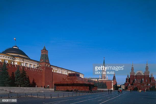 Vladimir Lenin's Mausoleum in the Red Square Moscow Kremlin Russia 20th century