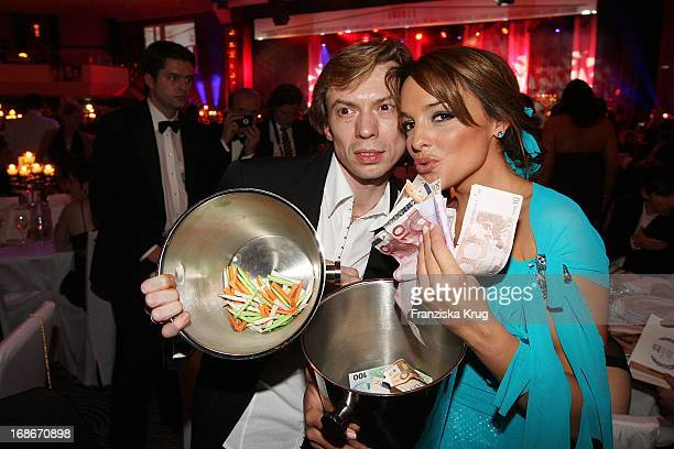Vladimir Malakhov and Estefania Küster at The UNESCO Charity Gala at the Maritim Hotel in Dusseldorf