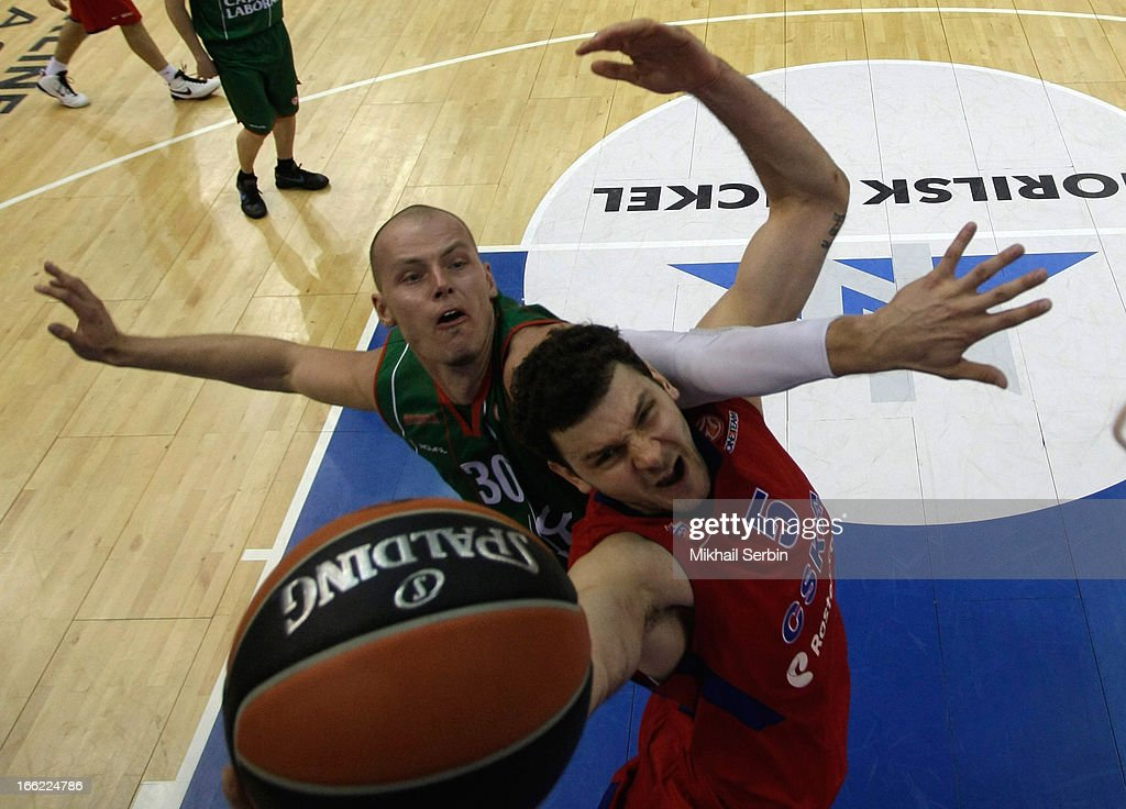 CSKA Moscow v Caja Laboral Vitoria - Turkish Airlines Euroleague Play Off