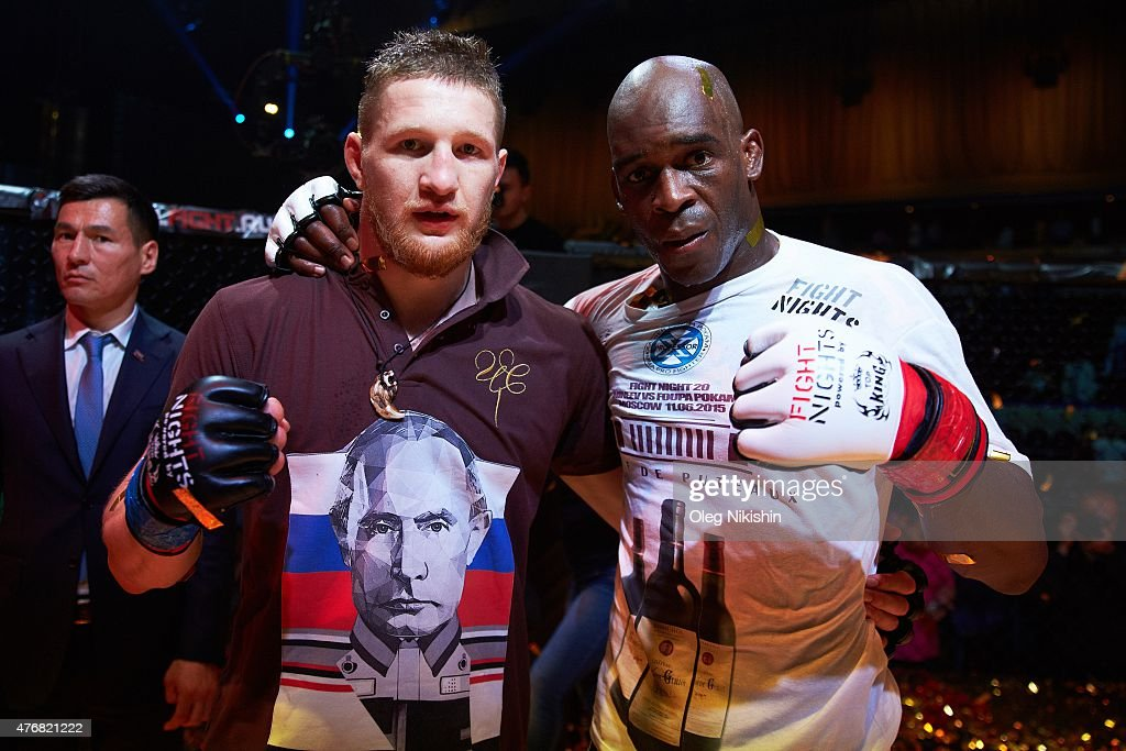 FIGHT 19 FIGHT NIGHTS MMA: Vladimir Mineev v Xavier Foupa-Pokam : News Photo