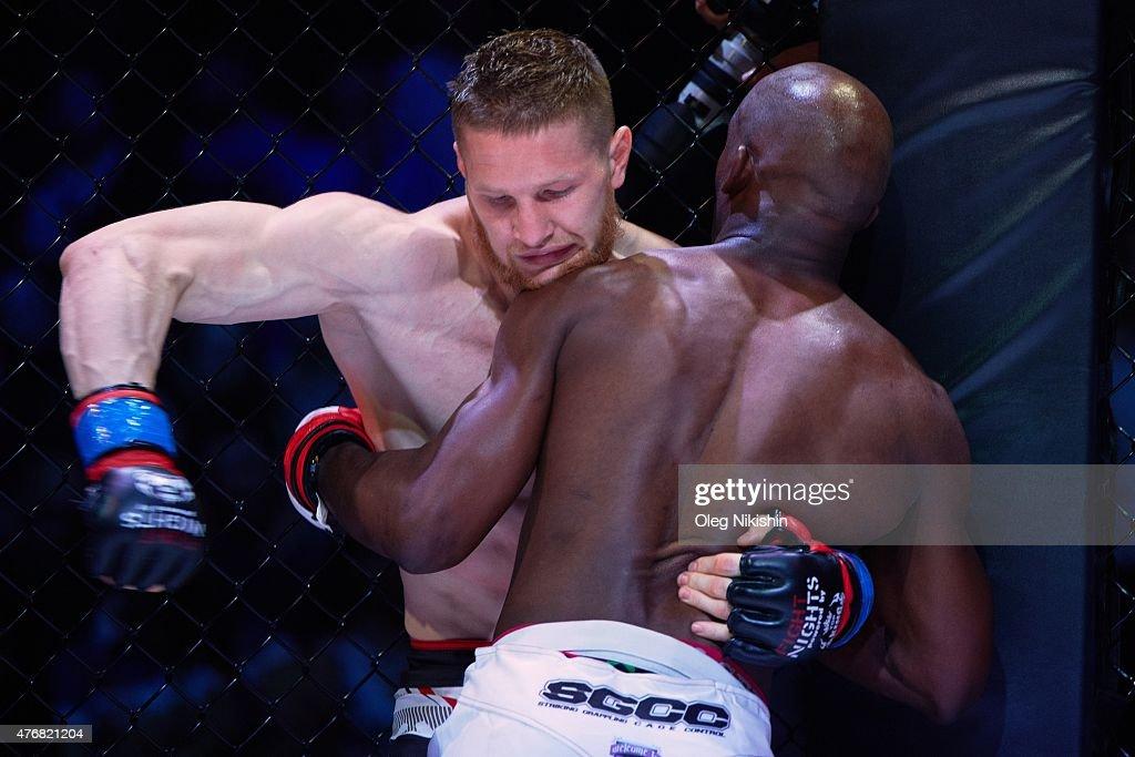 FIGHT 19 FIGHT NIGHTS MMA: Vladimir Mineev v Xavier Foupa-Pokam : Nyhetsfoto