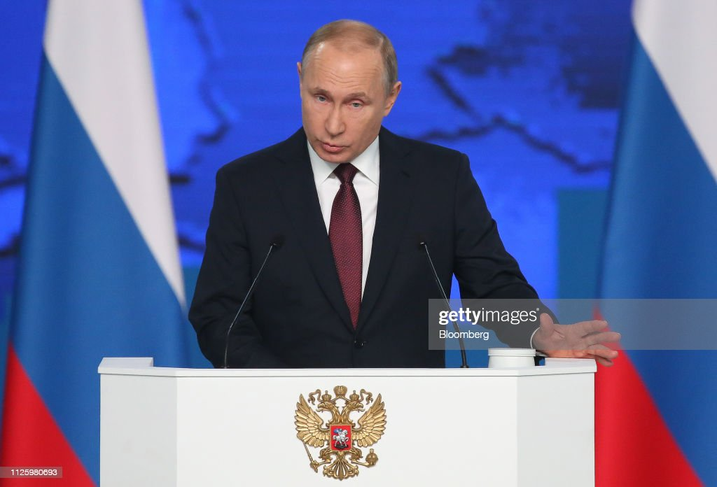 RUS: Russia's President Vladimir Putin's State of the Nation Address