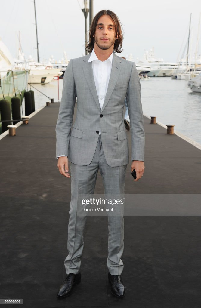 Vladimir Restoin-Roitfeld attends the Fair Game Cocktail Party hosted by Giorgio Armani held aboard his boat 'Main' during the 63rd Annual International Cannes Film Festival on May 19, 2010 in Cannes, France.