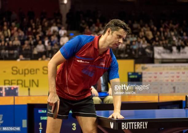 Vladimir Samsonov bei den Tischtennis Berlin German Open 2016 in der Max_Schmeling_Halle Berlin am