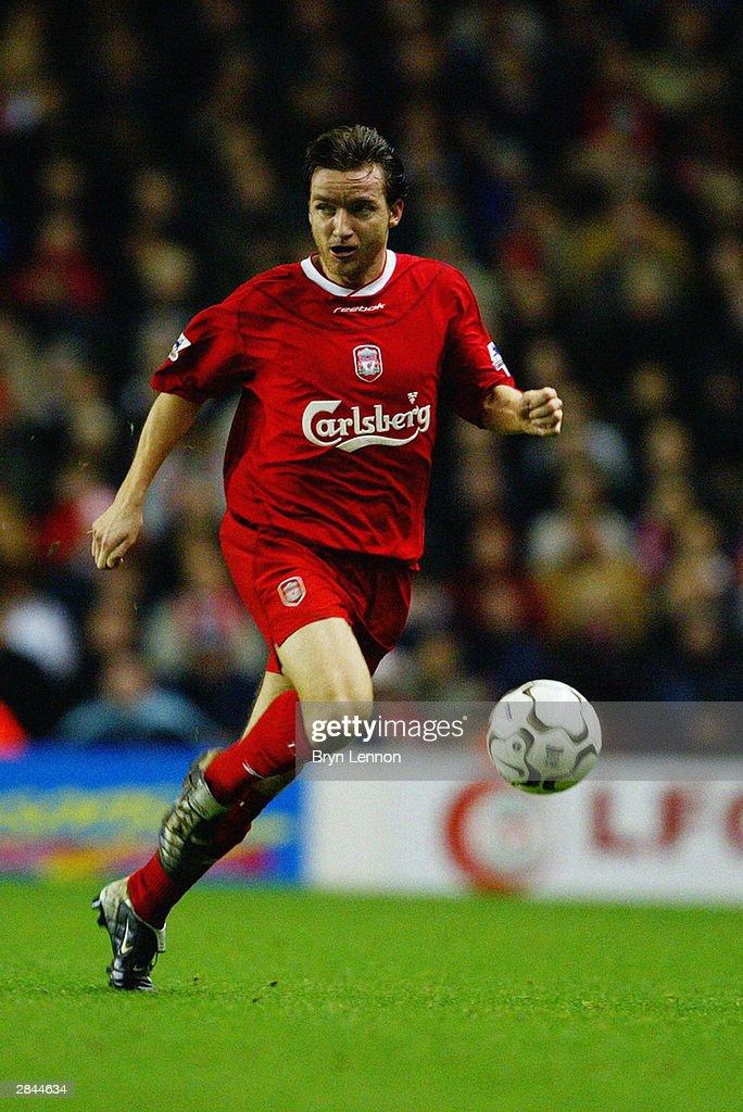 FA Barclaycard Premiership Match: Liverpool v Bolton Wanderers : News Photo