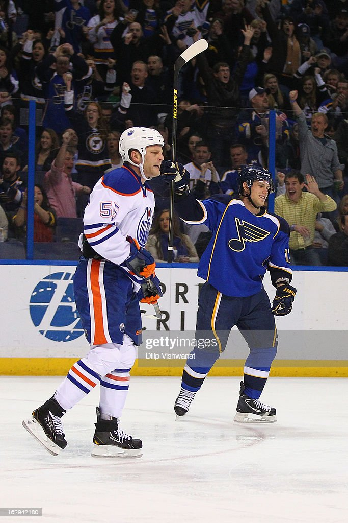 Edmonton Oilers v St Louis Blues