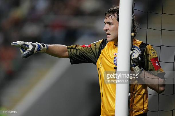 Vladimir Stojkovic of Serbia during the UEFA U21's Championship 2006 match between France and Serbia and Montenegro at the Estadio Municipal de Braga...