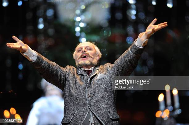Vladimir Stoyanov as Prince Yeletsky in Pyotr Il'yich Tchaikovsky's The Queen of Spades directed by Stefan Herheim and conducted by Antonio Pappano...