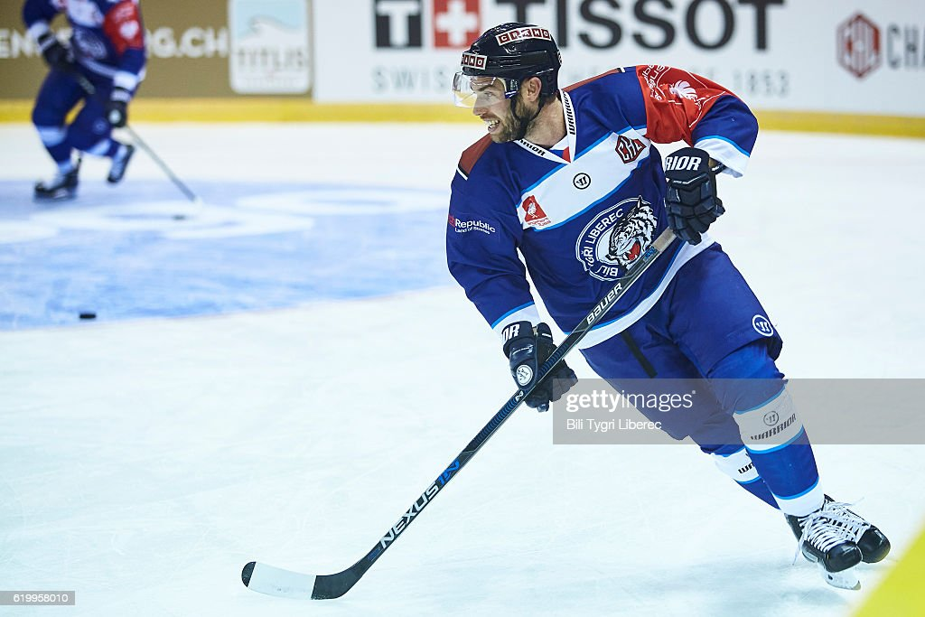 CZE: Bili Tygri Liberec v Vitkovice Ridera Ostrava - Champions Hockey League