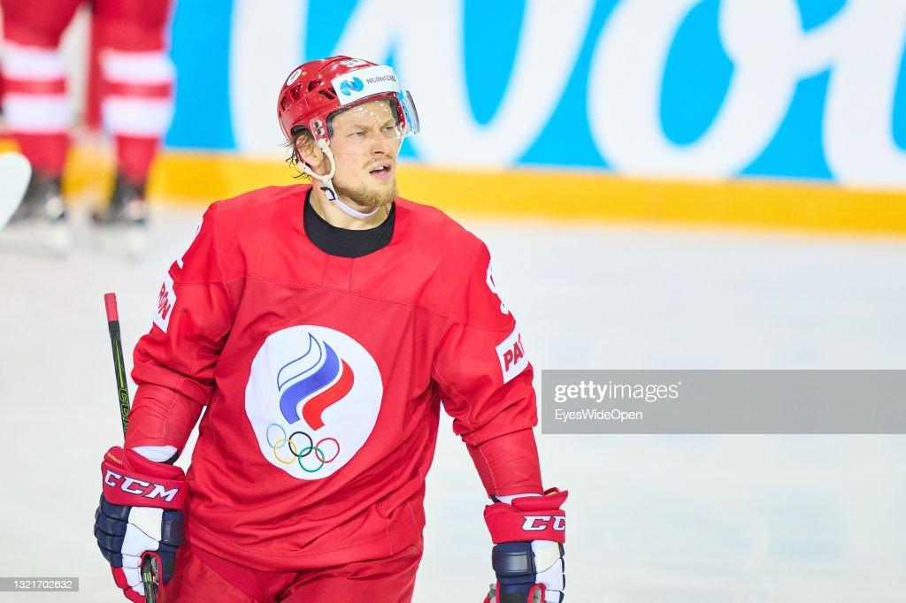 Russia v Canada - 2021 IIHF Ice Hockey World Championship Quarter Final : News Photo