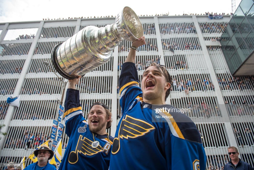St Louis Blues Victory Parade & Rally : News Photo
