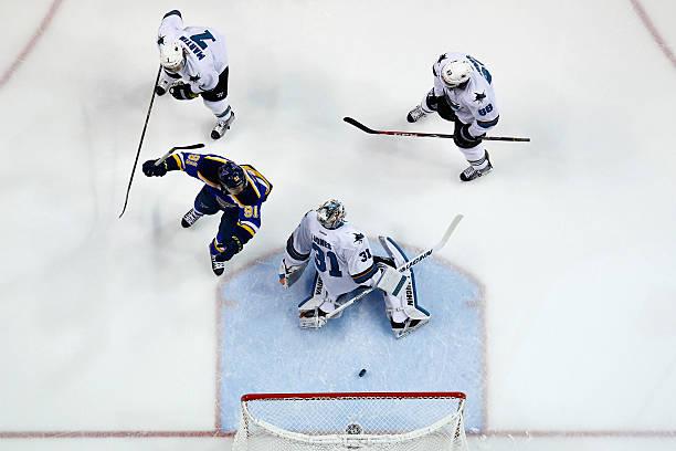 San Jose Sharks v St Louis Blues - Game One