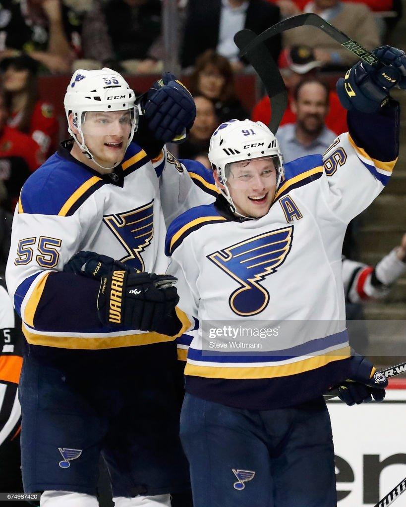 St. Louis Blues v Chicago Blackhawks : News Photo