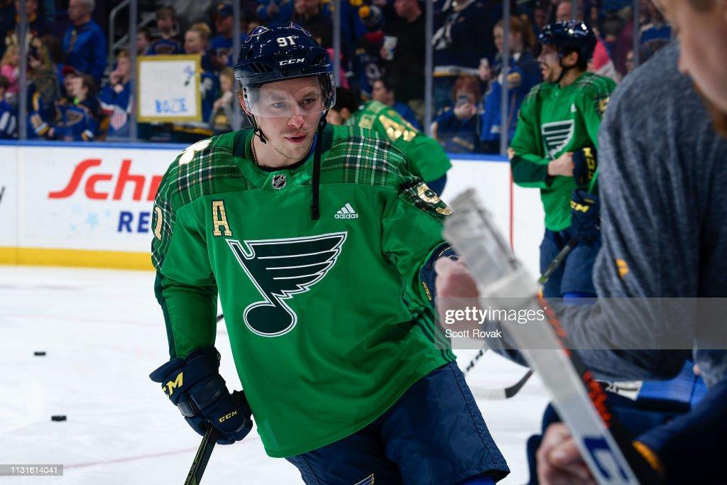MO: Edmonton Oilers v St Louis Blues