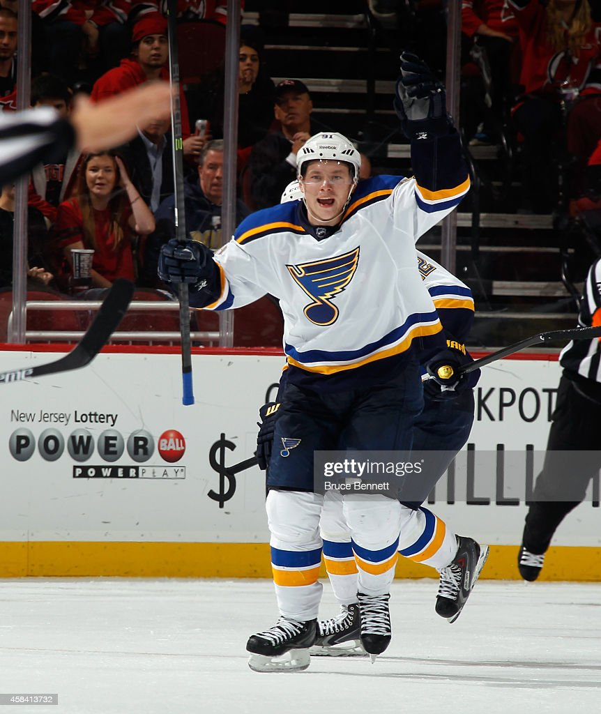 St Louis Blues v New Jersey Devils : News Photo