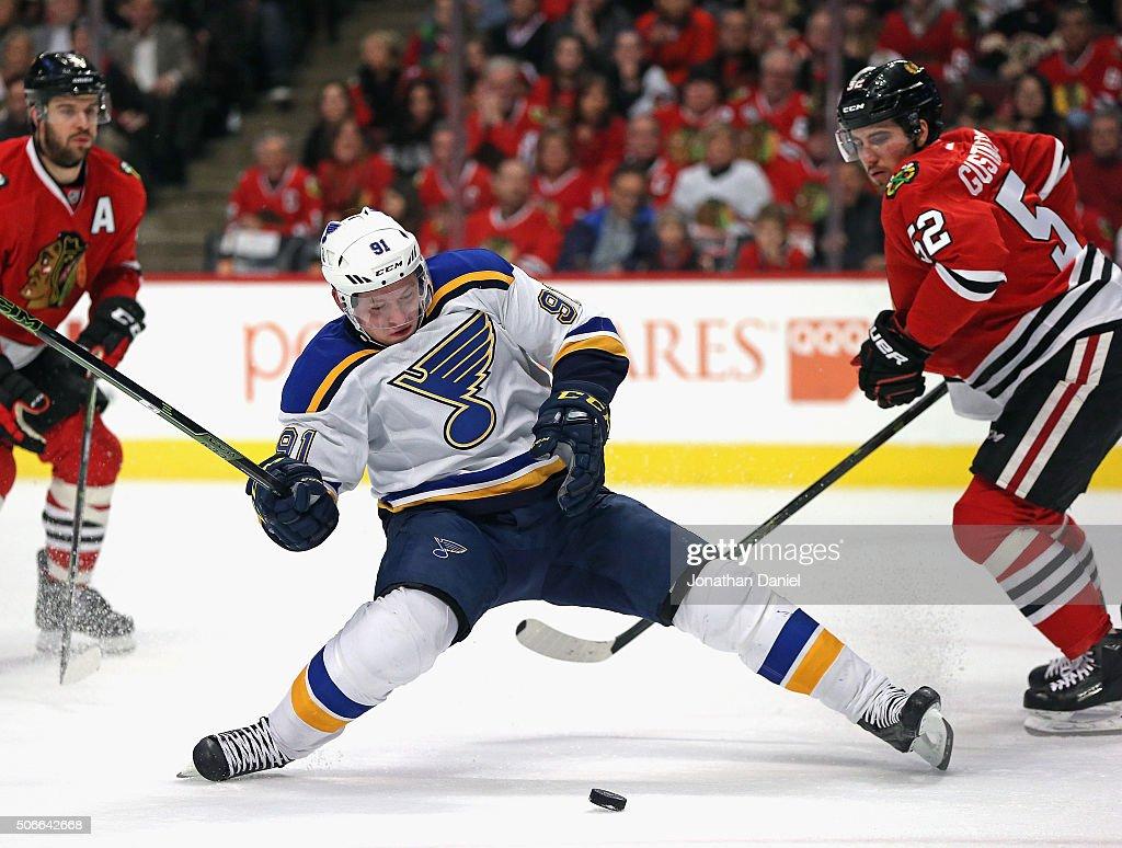 St Louis Blues v Chicago Blackhawks : News Photo